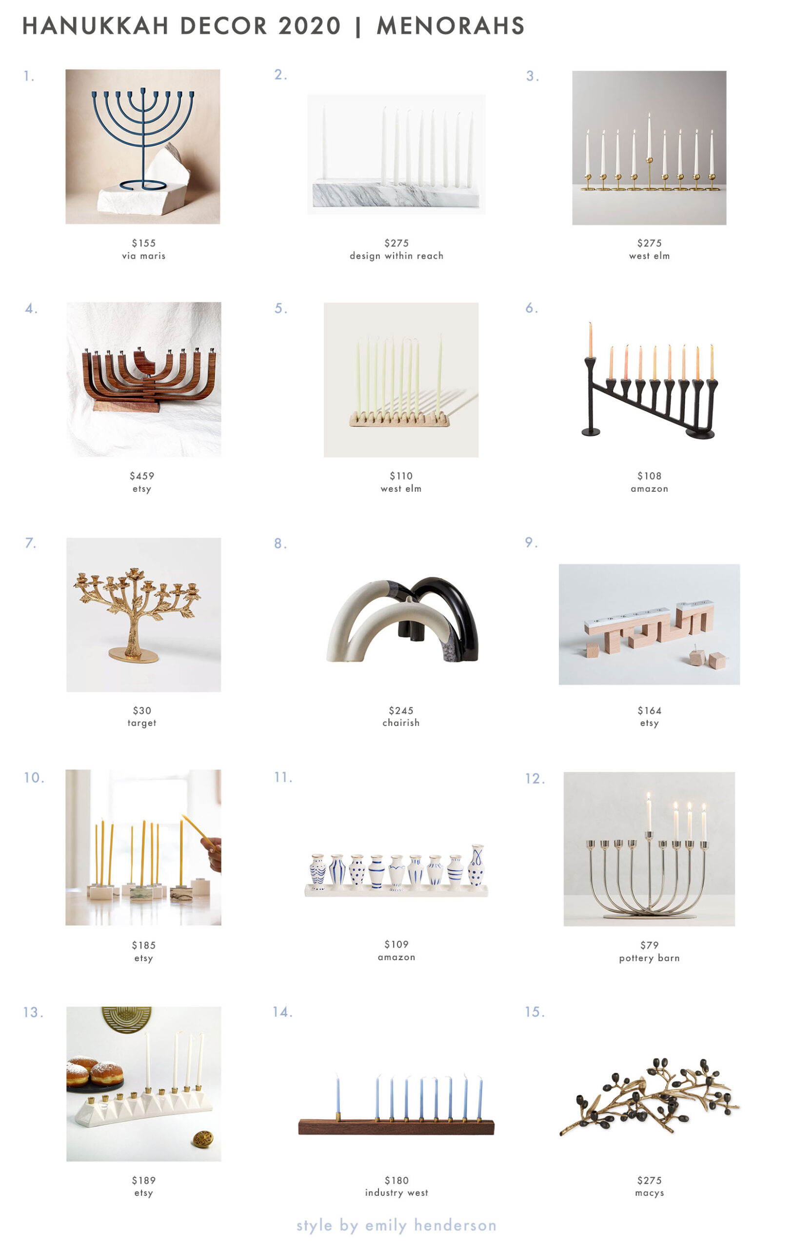 Beautiful, Modern Hanukkah Decorating Ideas—and Why Celebrating This Beautiful Holiday Matters in 2020 Best Children's Lighting & Home Decor Online Store