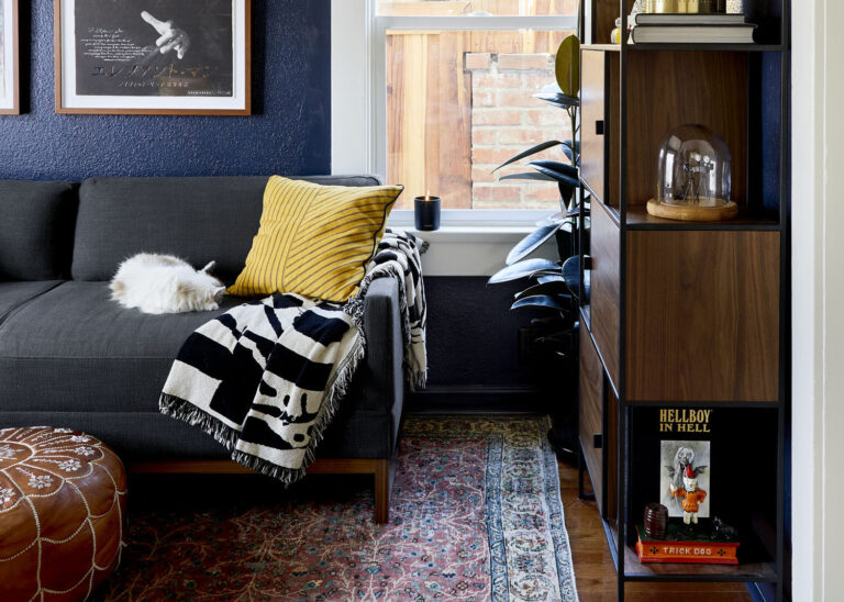 Sara &Amp; Mac'S Office/Guest Room Reveal - Lots Of Function + Even More Color And Style
