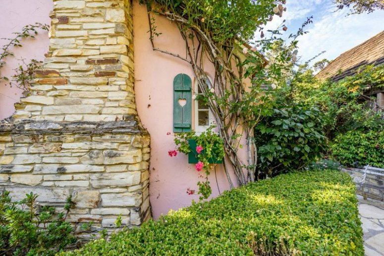 The owner of the house wanted a house like from a storybook and she got it