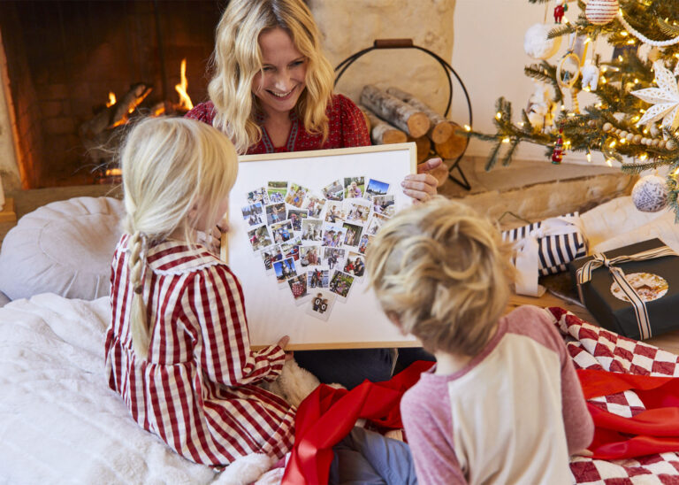 Our First Family Christmas Card And A Sweet Gift For The Kids