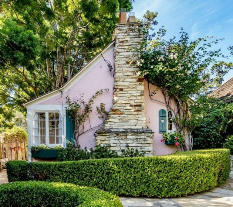 This Pretty Cottage Looks As If It Comes Straight Out Of A Fairy Tale And It'S Called Our House