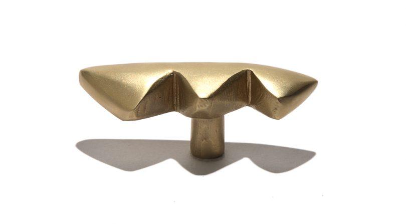brass drawer pull