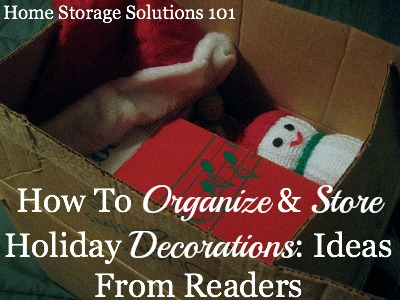 Holiday Decoration Storage Ideas: Hall Of Fame