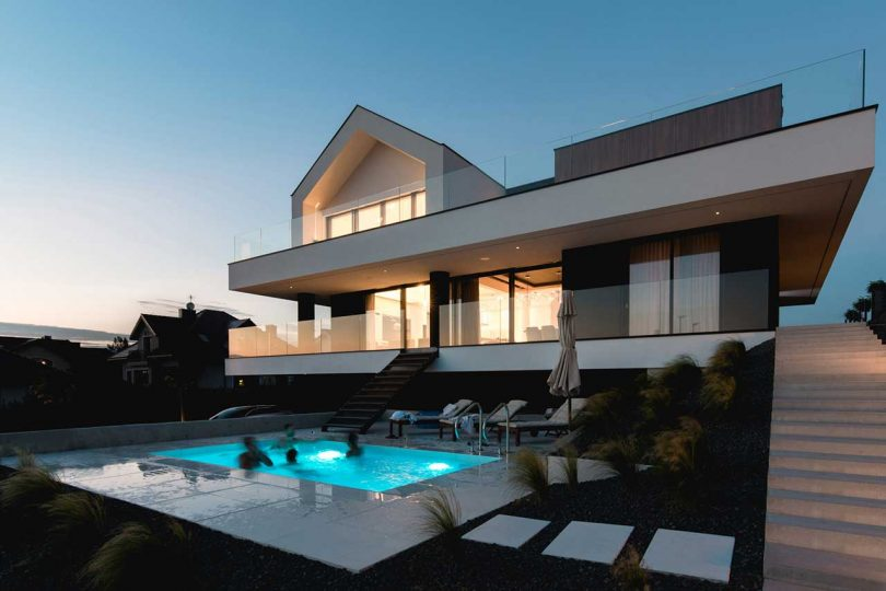 The Slab House in Poland Resembles How a LEGO House Would Be Built Best Children's Lighting & Home Decor Online Store