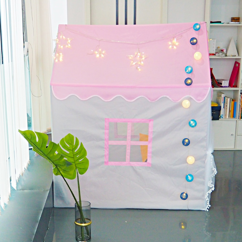 Portable Folding Kids Tents Baby Play House Best Children's Lighting & Home Decor Online Store
