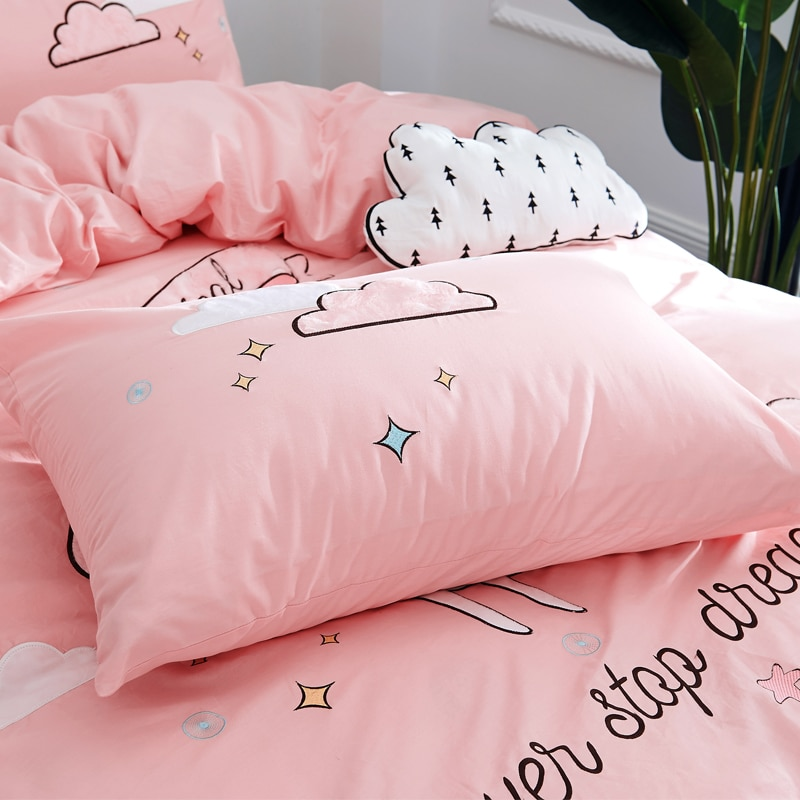 Pink Twin Queen unicorn Bedding Set Best Children's Lighting & Home Decor Online Store