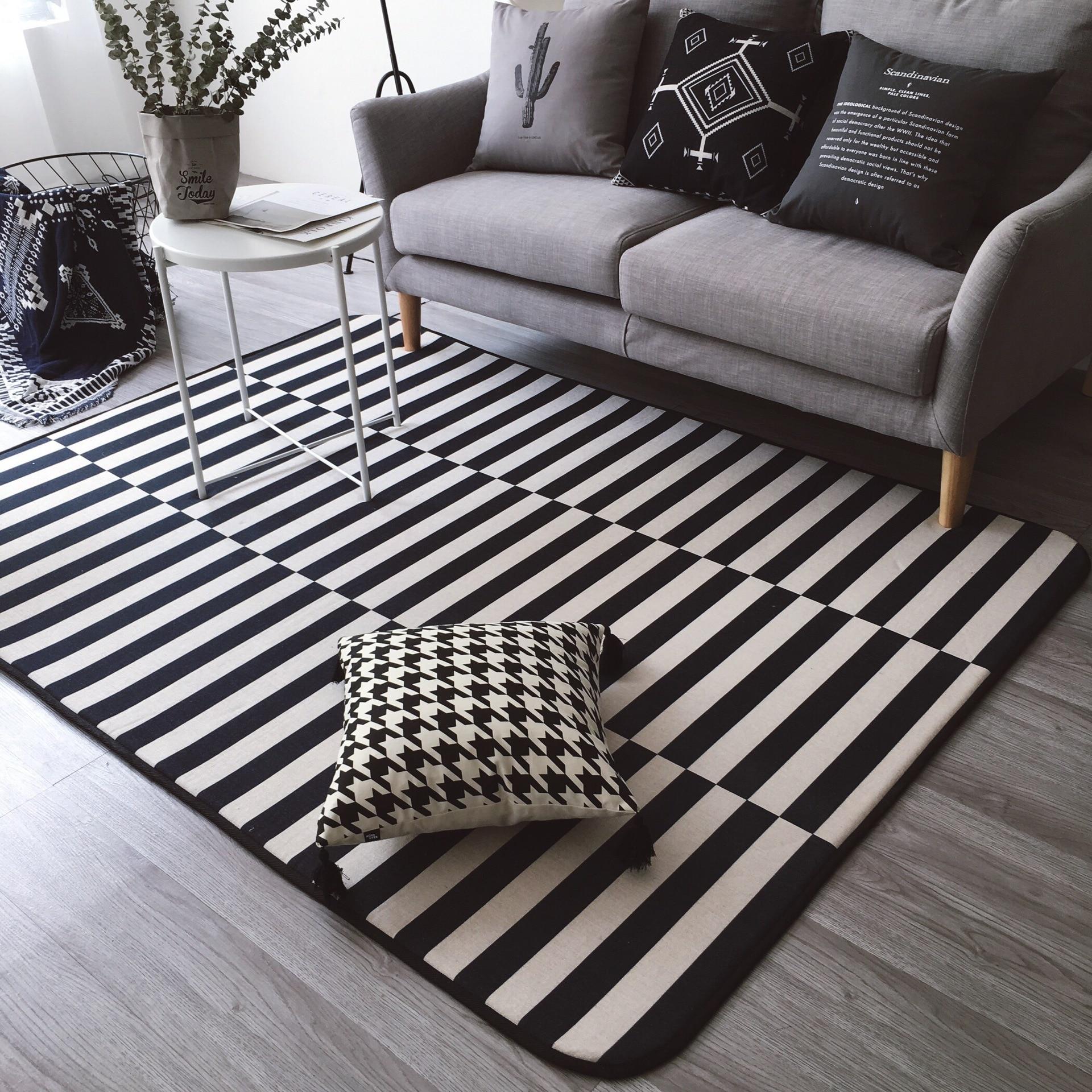 Black/White Rugs And Carpets Best Children's Lighting & Home Decor Online Store