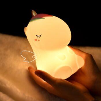 LED Silicone Unicorn Dinosaur Lamp Best Children's Lighting & Home Decor Online Store
