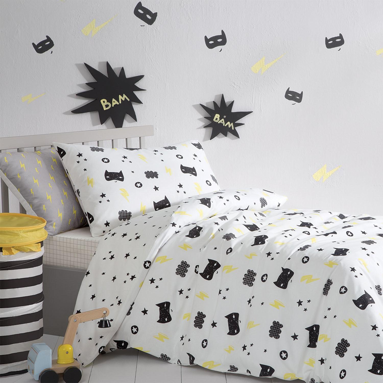 Bedding Hero Kid Ranforce Duvet Cover Set Best Children's Lighting & Home Decor Online Store