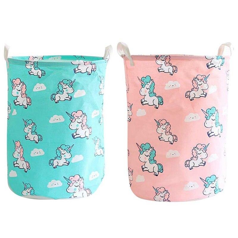 New Unicorn Storage Folding Laundry Basket