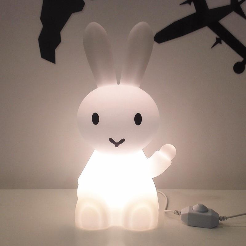 Cartoon Bunny Hare Rabbit Lamp Led Night Light Best Children's Lighting & Home Decor Online Store