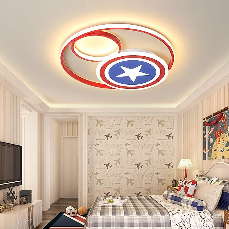 Captain America Modern Led Ceiling Lights