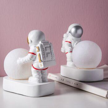 Astronaut Spaceman Moon Night Light Table Lamp Best Children's Lighting & Home Decor Online Store