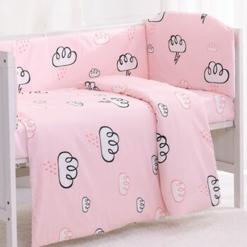 Cartoon Crib Bed Bumper Baby Bedding Set Best Children's Lighting & Home Decor Online Store