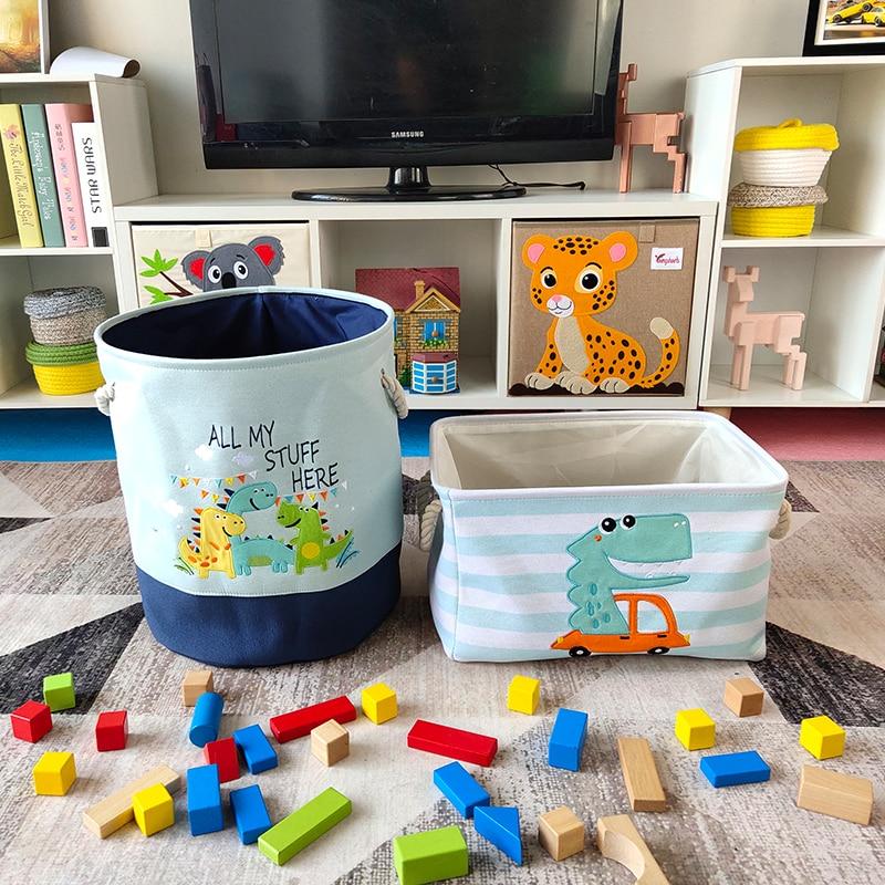 Cute Dinosaur Foldable Toy Storage Laundry Bag Best Children's Lighting & Home Decor Online Store