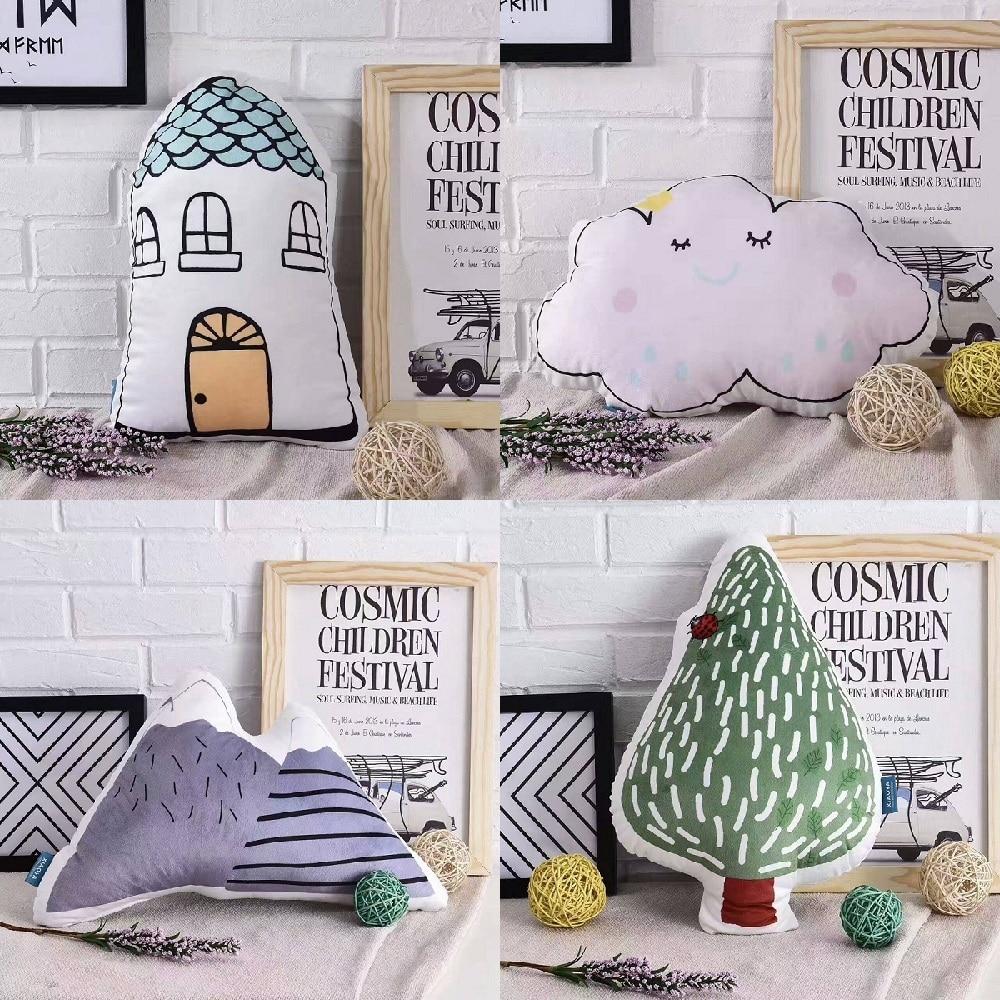 Lovely Cartoon Rabbit Face Cushion Pillow