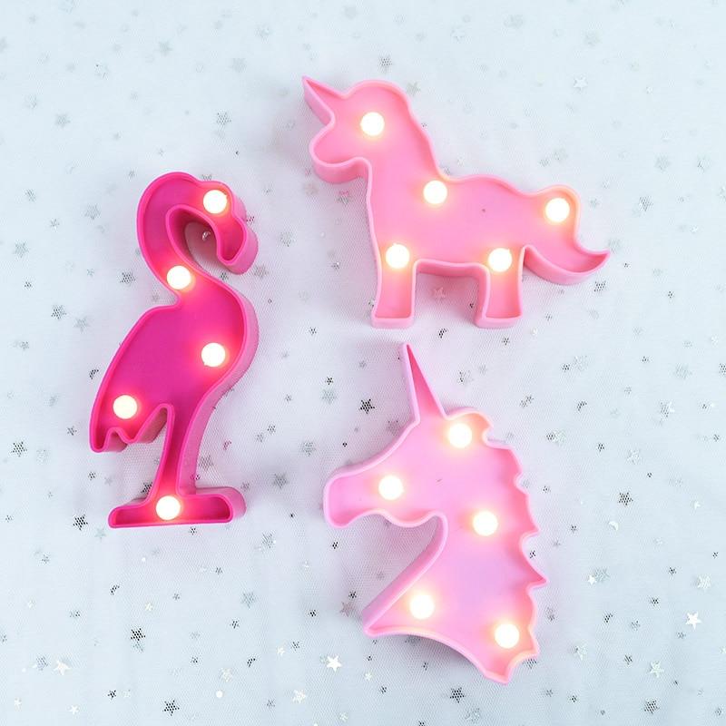 Unicorn Cloud Cactus Pinapple Star Shape LED Table Lamp Best Children's Lighting & Home Decor Online Store