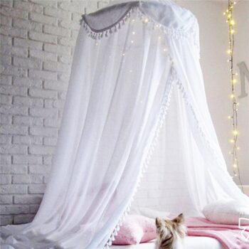 Baby Bed Canopy Bed Cover-Mosquito Net Best Children's Lighting & Home Decor Online Store