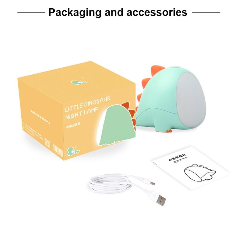Cute Dinosaur Night Lamp Best Children's Lighting & Home Decor Online Store