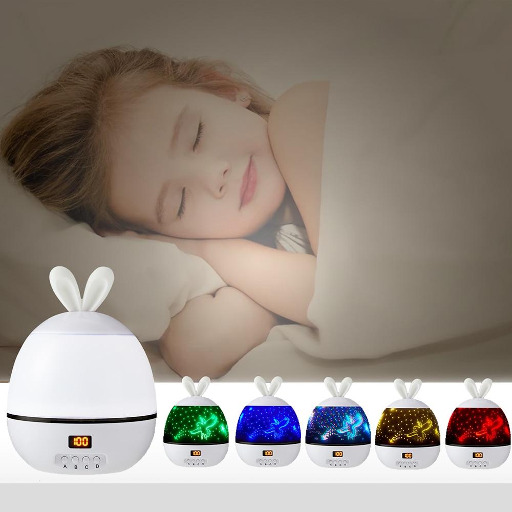 LED Night Lights Stars Projector Best Children's Lighting & Home Decor Online Store