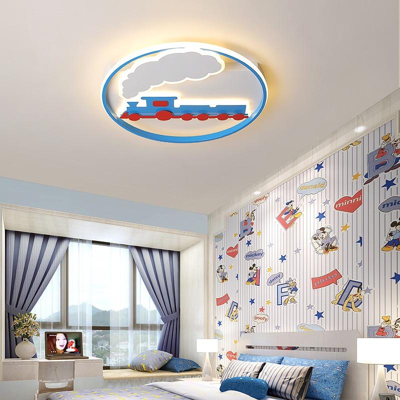 Led Lighting Train Ceiling Light Lamp Best Children's Lighting & Home Decor Online Store