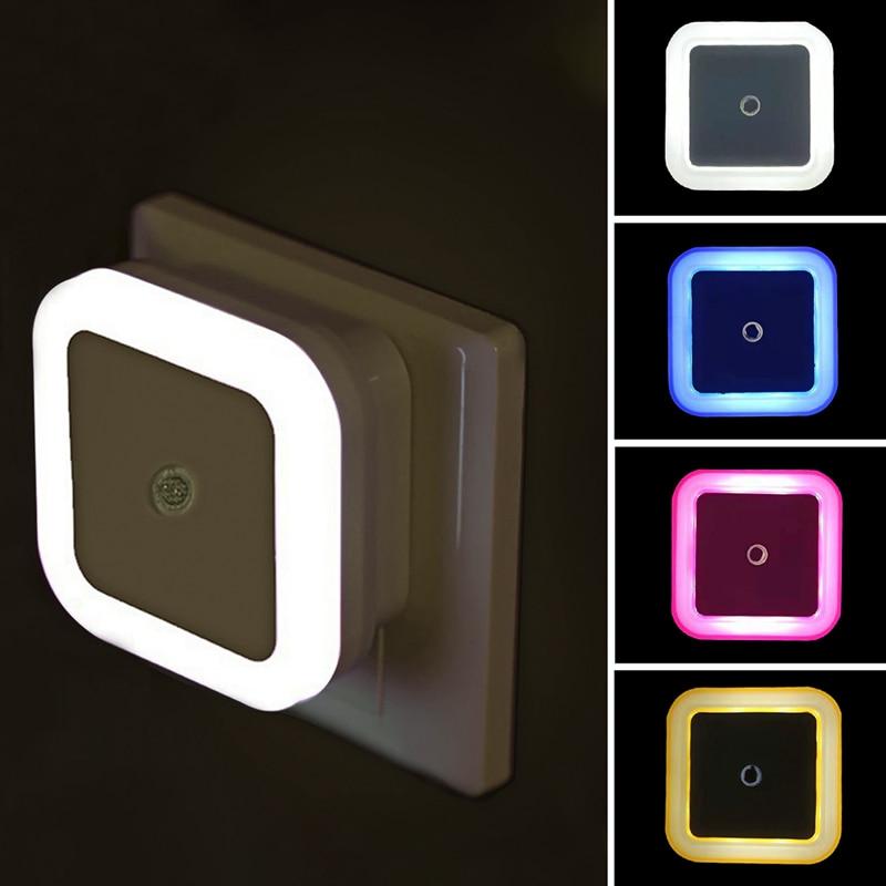 LED Mini EU US Plug Nightlight Lamp Best Children's Lighting & Home Decor Online Store
