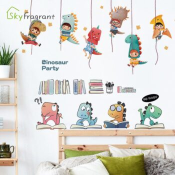 Cute Dinosaur Large Wall Stickers Best Children's Lighting & Home Decor Online Store