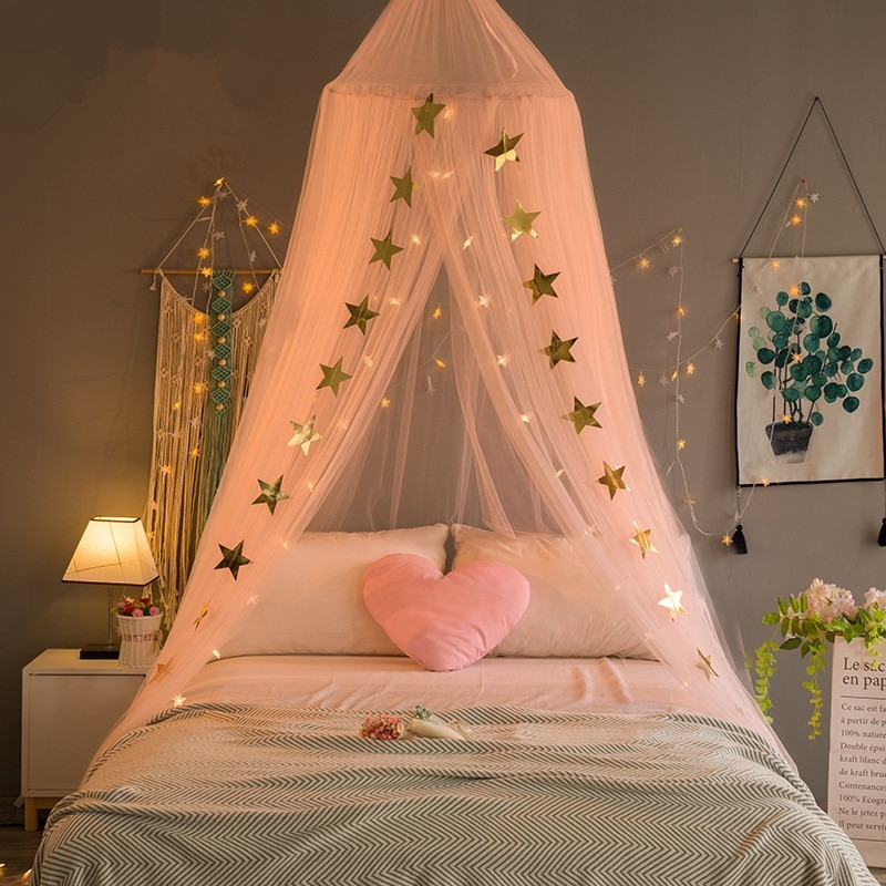 Baby Bed Canopy- Mosquito Net Best Children's Lighting & Home Decor Online Store