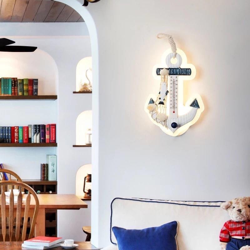 Mediterranean Style Baby Kids Room Wall Lamp Best Children's Lighting & Home Decor Online Store