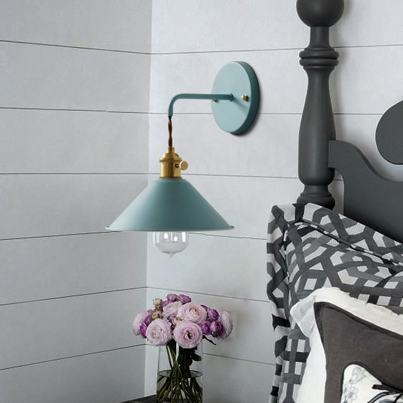 Modern Simple Iron Wall Lamp LED With 7 Colors Best Children's Lighting & Home Decor Online Store