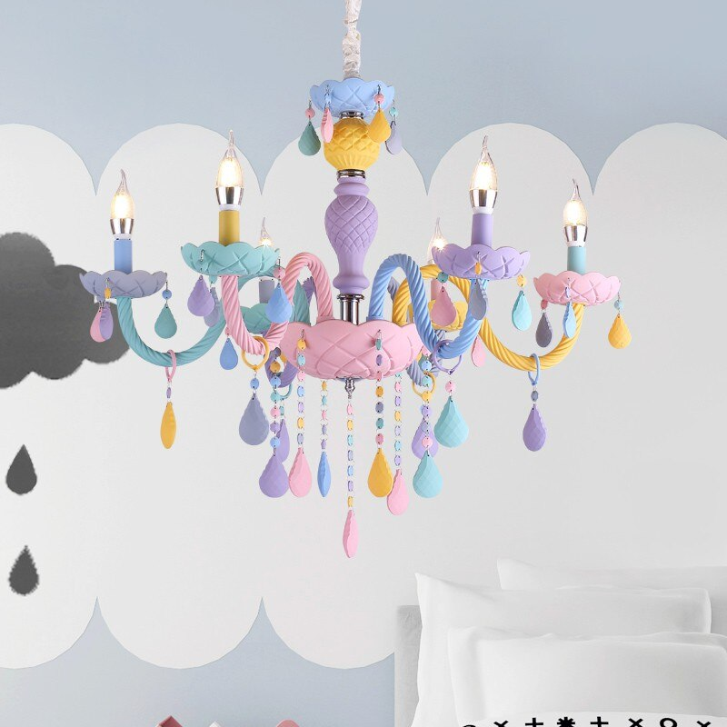 Multi Color Italian Crystal Chandelier Best Children's Lighting & Home Decor Online Store
