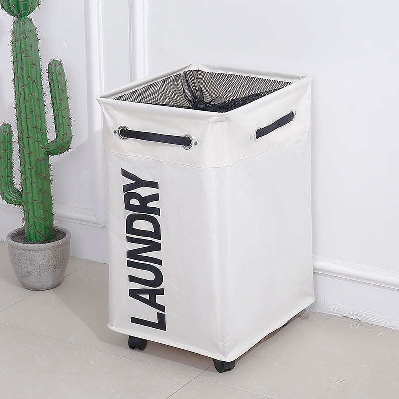 Laundry Basket Basket with Wheel Best Children's Lighting & Home Decor Online Store