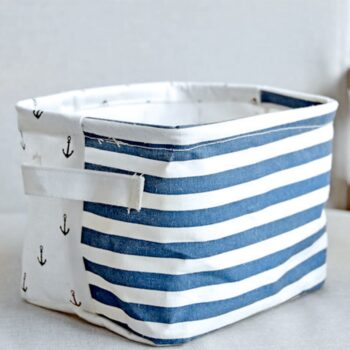 Snailhouse Navy Simple Cosmetic Storage Box Best Children's Lighting & Home Decor Online Store
