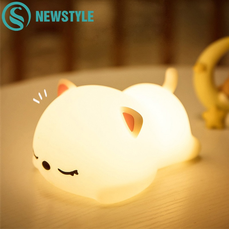 USB Rechargeable Silicone Night Lights Best Children's Lighting & Home Decor Online Store