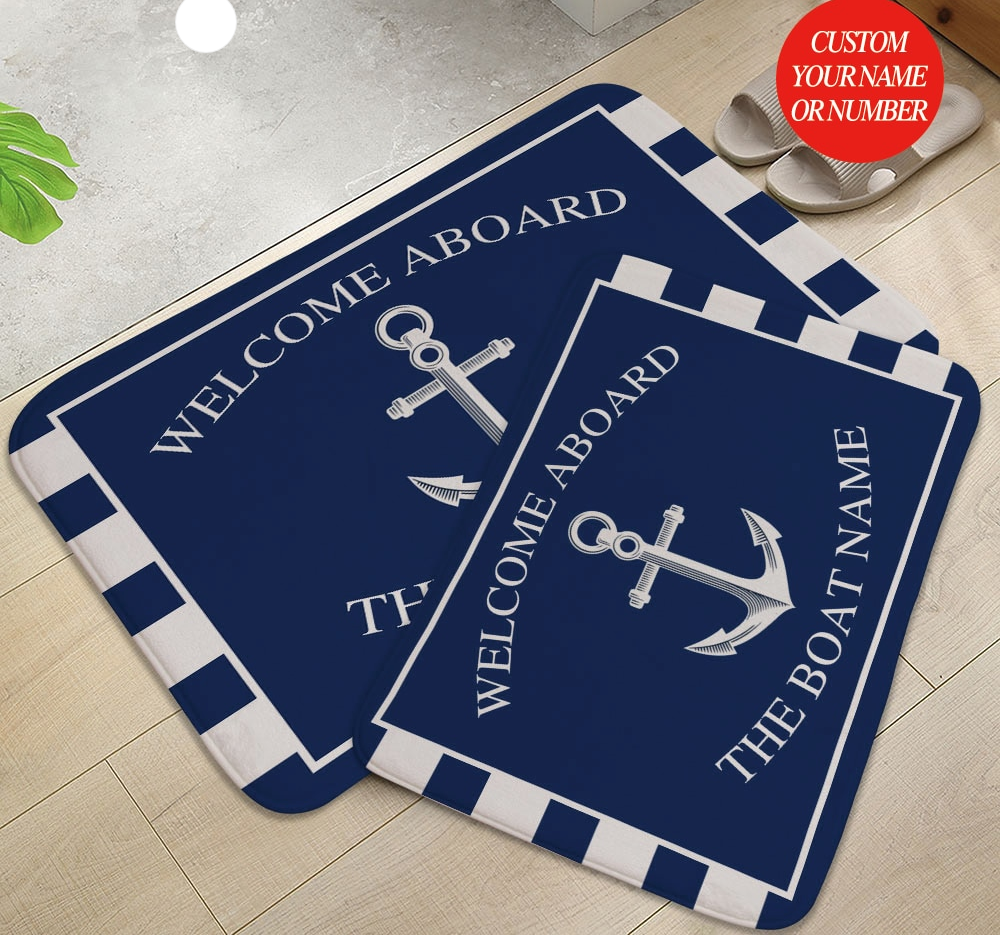 Anti-Slip Anchor Boat Decor Door Rugs Best Children's Lighting & Home Decor Online Store
