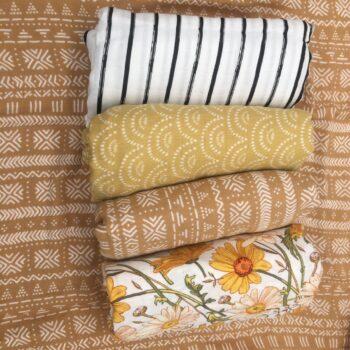 Bamboo Soft Baby Blanket For Newborn