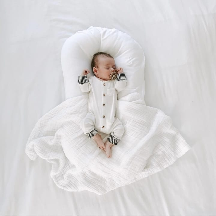 Portable Best Cotton Cradle Crib For Toddlers