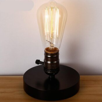 Vintage Best Table Lamp For Brightness