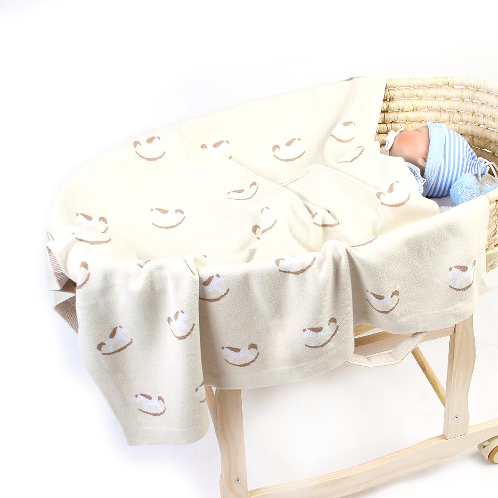 Cute Crib Bedding Baby Blanket For Newborn