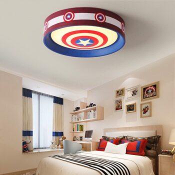 Captain America Superman Led Room Lamp Best Children's Lighting & Home Decor Online Store
