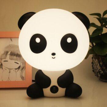 Cartoon Night Light Cute Panda Bear Table Desk Lamp