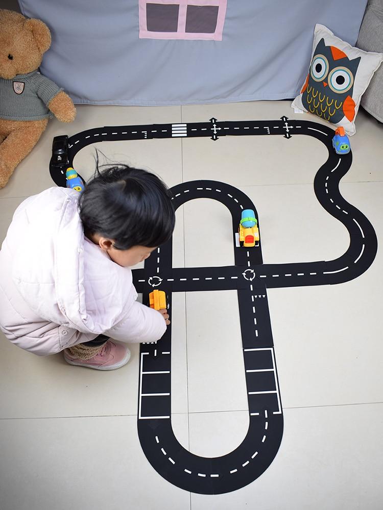 Car Traffic Track Best Play Set For Children