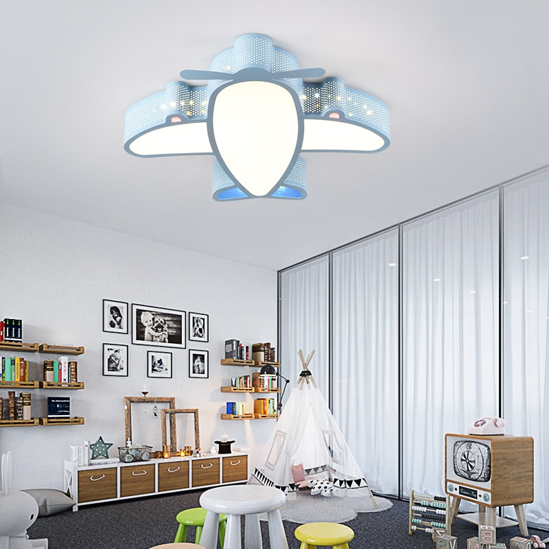 Cartoon Airplane Kids Ceiling Light Best Children's Lighting & Home Decor Online Store