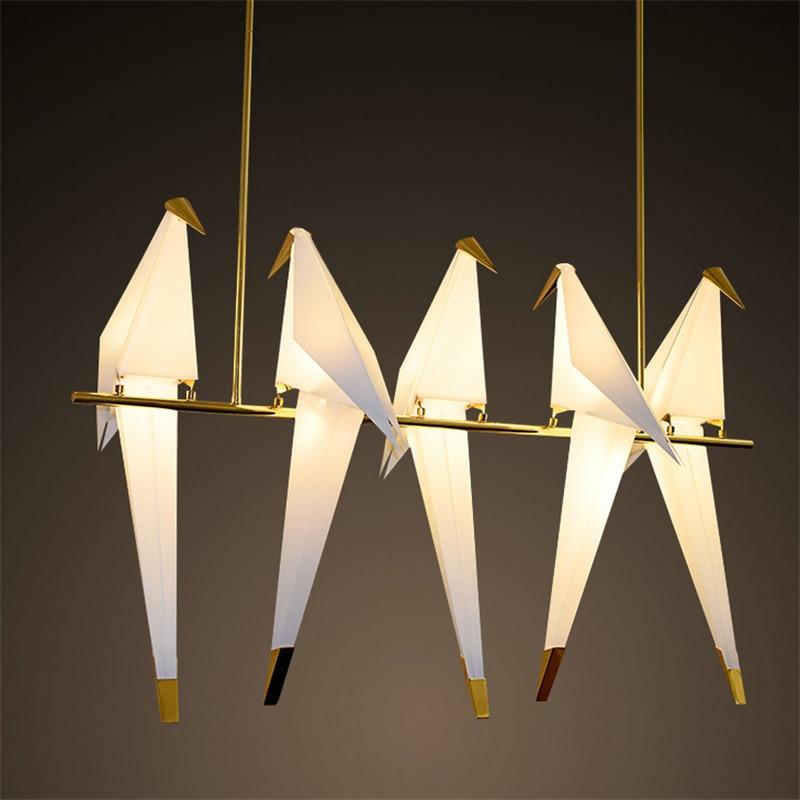 5 heads Modern Chandelier Bird Light unusual chandeliers