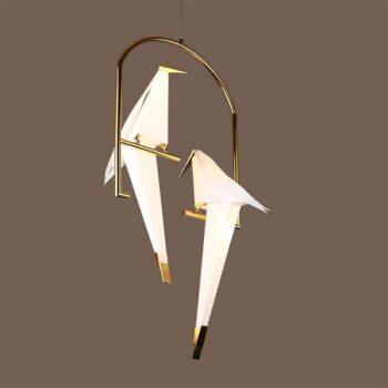 Gold Bird Cage pendant Lamp Best Children's Lighting & Home Decor Online Store