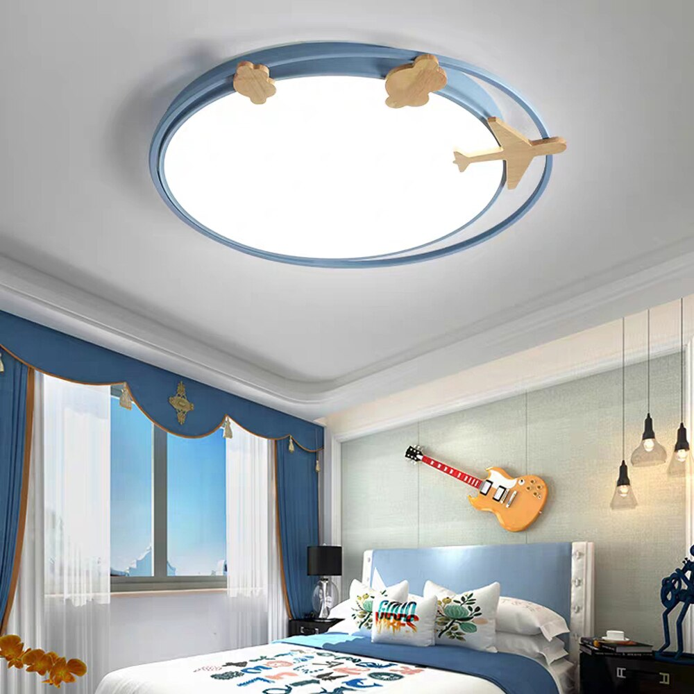 Modern LED Wood Animal Ceiling Light Best Children's Lighting & Home Decor Online Store