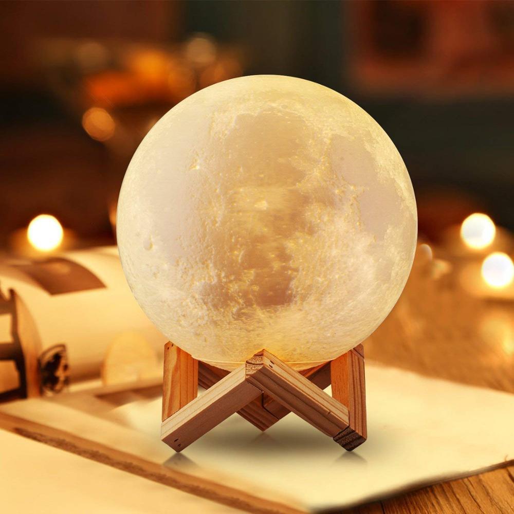 Moon Globe Best Night Light For Child Afraid Of Dark