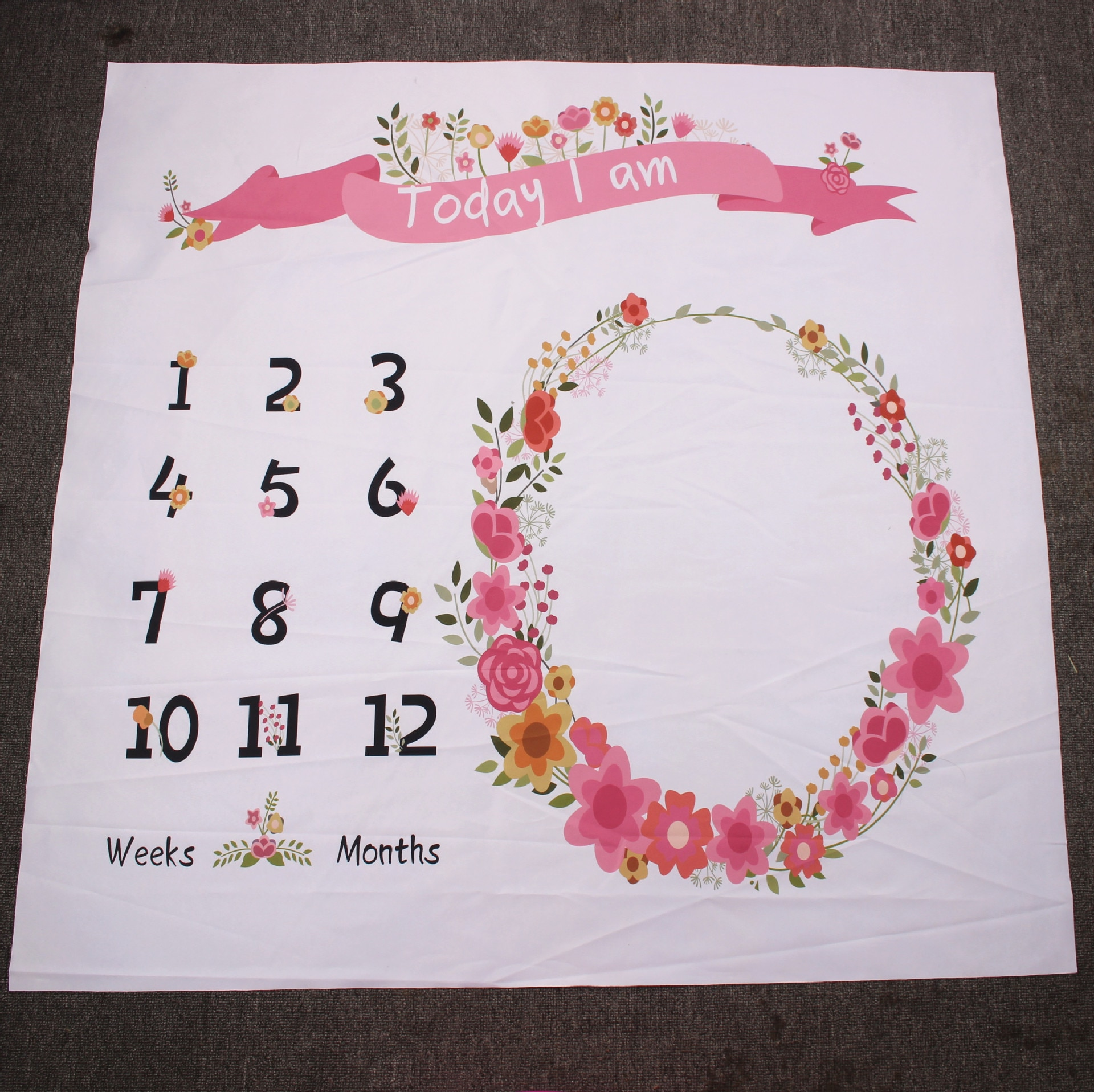 Flower Photography Baby Blanket For Newborn Best Children's Lighting & Home Decor Online Store