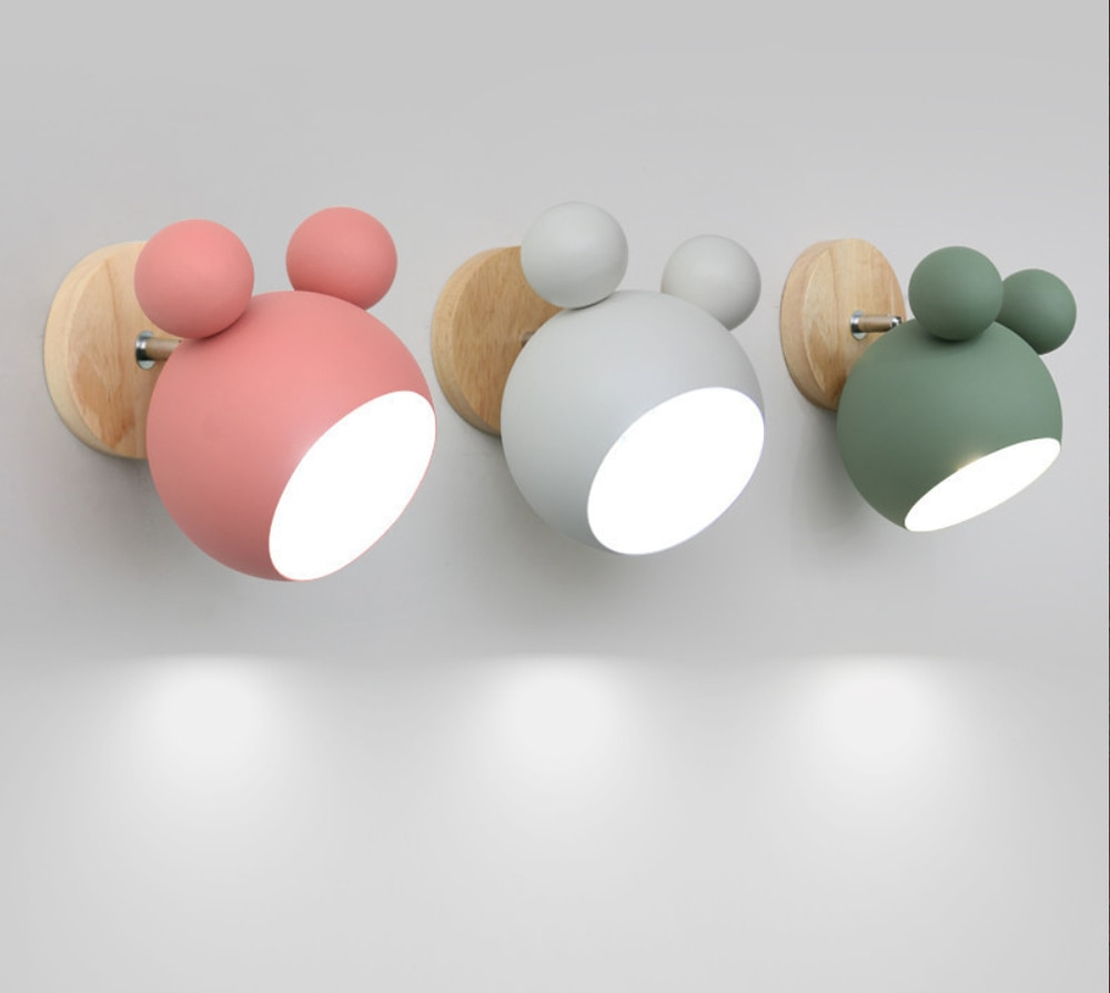 Nordic Wooden Best Night Light For Baby
