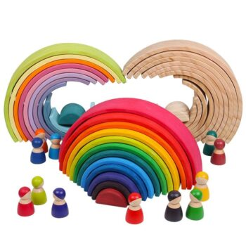 Creative Rainbow Building Blocks Best Toys For Babies